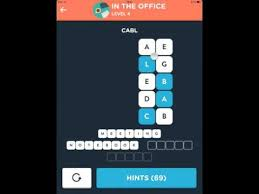 Wordbrain Themes Superstar In The Office Level 4 Solution
