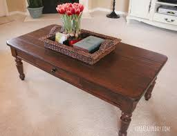 Refinish Stained Wood Refinishing Furniture Coffee Table Coffee Addicts