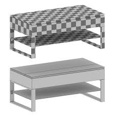 falster lift top coffee table 3d model