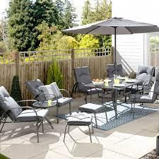 croft hartwell 11 piece patio garden
