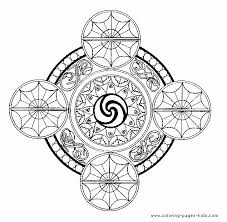 Small Picture Beautiful Mandala Coloring Pages Online Images New Printable