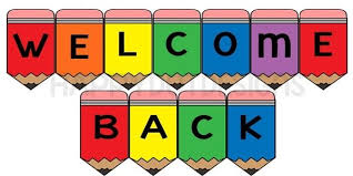 printable welcome home banner template printable welcome back banner classroom sign rainbow pencils for