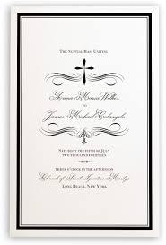 Invitations Wedding Program Templates Layered Wedding Programs