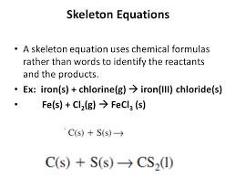 6 skeleton equations