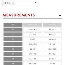 Assets By Spanx Size Chart