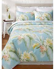 tommy bahama bedspreads. TOMMY BAHAMA BEACHCOMBER 4 PC KING COMFORTER SET FLORAL BLUE SHAMS BEDSKIRT Tommy Bahama Bedspreads