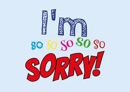 I'm So So So So So Sorry I'm Sorry Cards Send Real Postcards Online Impressive Sorry