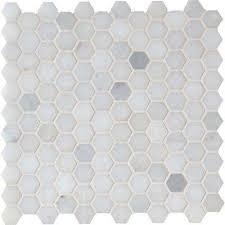 white tile floor. Delighful White Greecian White Hexagon 12 In X 10mm Polished Marble Mesh Inside Tile Floor