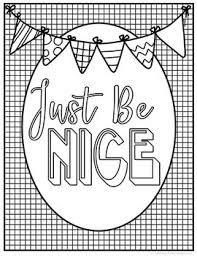 Kindness Coloring Pages By The Brighter Rewriter Tpt