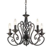 antique candelabra chandeliers wrought iron 5 lights candle lighting black ceiling candle light fixture