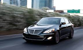 hyundai genesis 2013 4 door. Wonderful Door Hyundai Genesis RSpec 50 Sedan Test U0026ndash Review Car And Driver To 2013 4 Door