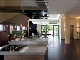 modern house inside. Small Kitchen In Modern House By Yakusha Design Inside
