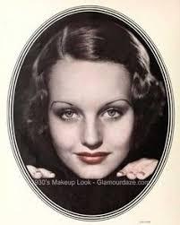 1930s makeup resultado de imagen de 1930 moda y maquillaje