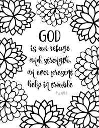 Small Picture Bible Verse Coloring Pages Collection Sunday school Adult