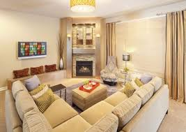 corner fireplace ideas contemporary living room