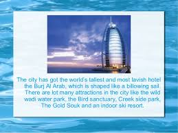 dubai a perfect holiday destination