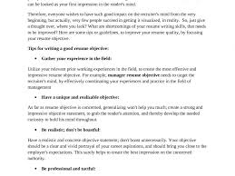 Good Resume Objectives Extraordinary Design Great Objectives For Resumes 100 Criminal 90