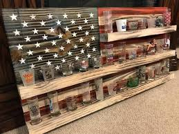 shot glass display shelves shot glass display case wall cabinet shelves shot glass