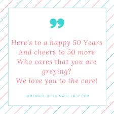 happy 50th birthday poems