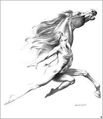 Fantasy Art Boris Vallejo Con Disegni Fantasy A Matita E Boris