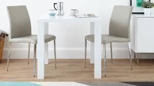High Gloss White Kitchen White Gloss Kitchen Table Impressive Round White High Gloss Glass