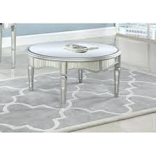 silver round coffee table best master furniture silver mirrored round coffee table round silver coffee table nz