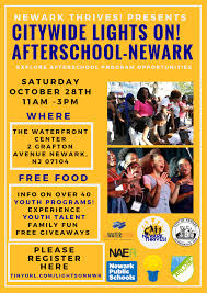 Lights On After School 2017 Citywide Lights On Afterschool Newark Newark Board Of