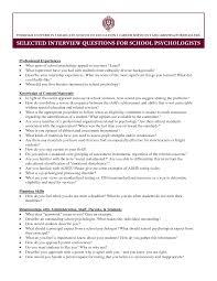 Gallery Of Resume Example School Psychologist Resume Sample School