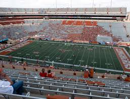 Darrell K Royal Texas Memorial Stadium Section 104 Seat