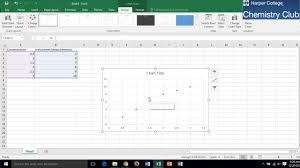 How To Generate A Calibration Curve Using Microsoft Excel Windows 10