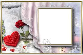 romantic photo frame with marriage angels frames png png free stock