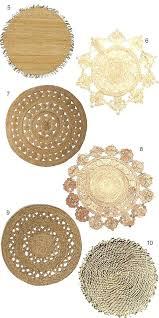 6 round jute rug designs chenille 6x9