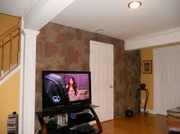 interesting faux stone veneer siding panels by genstone siding in wooden floor and white doors for interior design ideas