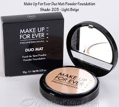make up for ever duo mat powder foundation shade 203 before after swatches pics review