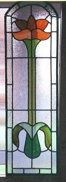 stained glass edwardian stained glass windows restoration red panel window designs
