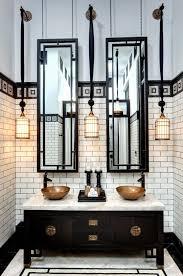 Art Deco Bathroom Mirrors Mirror Luannoe Me 8 Darkmtfo