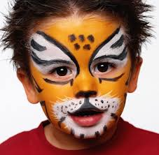 face painting tiger jpg