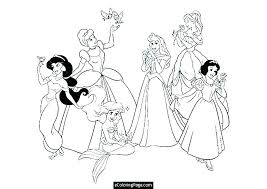 Free Coloring Pages Of Disney Characters Artigianelliinfo
