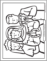 First Communion Children Coloring Page