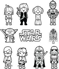Star Wars Coloring Sheets Campzablaceinfo