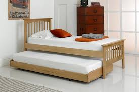 Home Comfort Millwood Guest Bed (Oak) 3 Single Natural Stowaway Bed