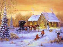 Free Christmas Scenes Wallpapers ...