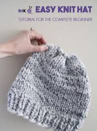 Easy Knit Hat Pattern Free Cool Beginner Hat Knitting Pattern Knittin' Kittin Pinterest Knit