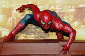 the frame spider man heads to marvel who has the spidey sense to don the blue and red suit 89 3 kpcc
