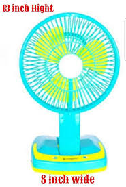 17 Best Rechargeable Remote Controlled Table Fan - ReviewSellers