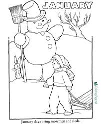 Here is a huge collection of winter coloring pages free for you to print out. Winter Coloring Pages