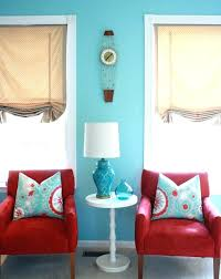 Teal and red living room Colorful Turquoise And Gray Living Room Black Beige White Striped Fabric Sofa Pads Red Turq Botscamp Turquoise Red Living Room Inspiring Best Curtains Ideas On Farmhouse