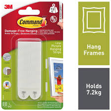 large picture and mirror hanging strips