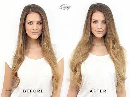 Dream Catchers Hair Extensions Before And After Blonde Hair Bellami Hair Extensions Beach Blonde Unique Before And 57