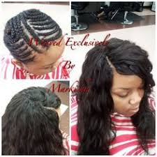 Braid Pattern For Sew In Weave With Side Part Adorable AMAZING Braid FoundationFull Sew In Install With No Leave Out